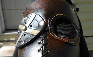 Plague Doctor Mask on Face 4 by atsed11
