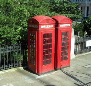 London phone boxes by CariStock