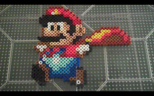 Commission: Super Mario about to fly by SuzuriHeinze