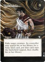 Magic Card Alteration: Path to Exile by Ondal-the-Fool