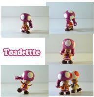 Weekly Sculpture: Toadette by ClayPita