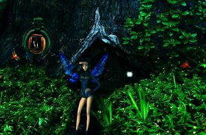 Fairie In Search Of by VisualPoetress