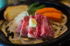 Japanese Kobe Beef Steak by draxxion