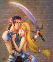 Princess and the Knight by gndagnor