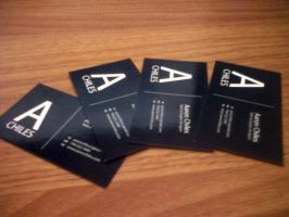 Business Card by aaronchiles