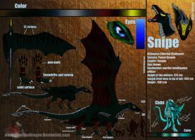 Snipe reference sheet by SiberianDragon