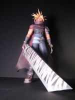 Cloud Papercraft by TouchFuzzyGetDizzy