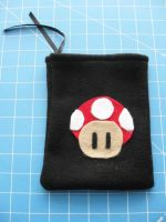 DS Carrying Case - Mushroom 1 by PaperCadence