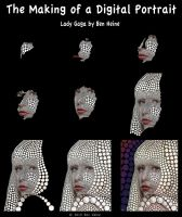 Making of - Lady Gaga by BenHeine