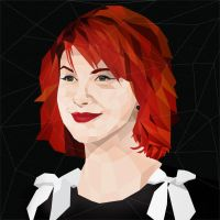 Hayley Williams Polygonal by coddih