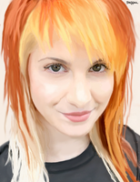 Digital Painting Hayley.W by steffne