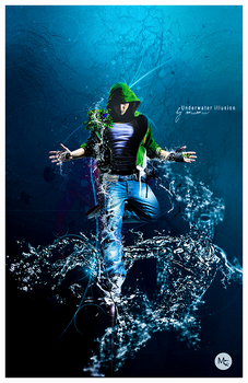 Under water there is illusion by mqqmqr