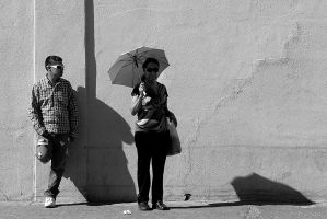 Waiting Wall by momentspause