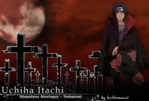 Itachi-wallpaper third by kullermausi