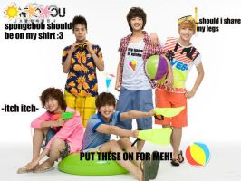SHINee Macro:.Time to Go to The Beach!.: by xrinnn