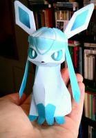 My little Glaceon by me~Papercraft! by LadyEdile