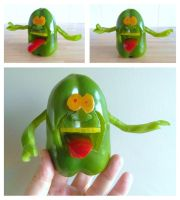 Ghostbusters - Slimer Pepper by mikedaws