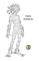 Tree Person - Commission by shrouded-artist