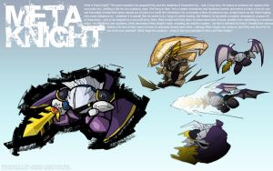 Super Smash Bros: Meta Knight by ArcZero