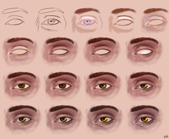 Semi-Realistic Eye Step-By-Step by wick-y