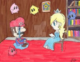 Throwback Thursday - Rosalina Storytime 2 by PrincessArtist2009