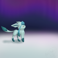 Glaceon~ by bambous