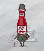 Sir Fancy Ketchup of Tomato by bennyd302