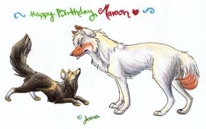 Happy Birthday Maroon by Joava