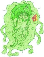 Amru Vore: Engulfed By A Slime Creature Part 2 by KnightRayjack