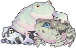 Frog Squad by MBPanther