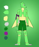 Shawn the Scyther - reference by BladeTiger