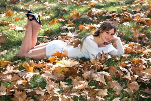 In the leaves 1 by Jesi86