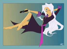 Restylized Urd by EastCoastCanuck