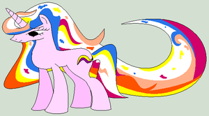 True Colours MLP Adoptable 10 Points by MonkFishyAdopts