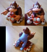 Kiddy Kong Squitter Figurine by Jelle-C