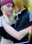 Winry and Ed by Rigetzu
