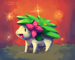 Shaymin Gift by MusicalCombusken
