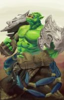 Power Orc by DrGear