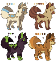 Dog Point Adoptables 2013! *CLOSED* by iCaitlynn