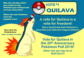 Vote 1 Quilava 2016 by BudCharles