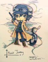 Kino's Journey Commission by StarMasayume