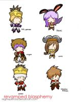 RB chibis part 1 colorized by reginepetrola