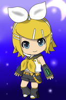 Request: Rin Kagamine Chibi by TheEternalManga