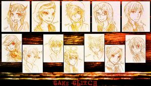 Game-Glitch Headshots by digidestined4eva