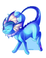 vaporeon by Lunchwere