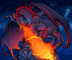 Fire Breathing Dragon by Dragoart
