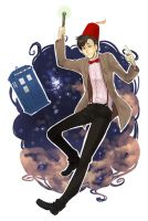 Doctor Who - eleventh by PetitPotato