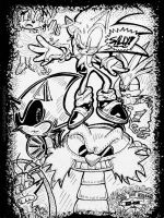 Comic Book Events of Sonic the Hedgehog Fan Art by MGartist