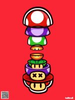 Power Mario by TOLLTROLL