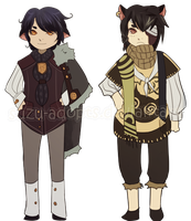 Kemonomimi Adoptables 01 EXTRA  (closed) by Suzu-Adopts